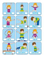 Stickers-Gymnastics
