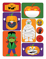Stickers-Halloween 2021