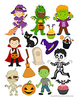 Stickers-Halloween