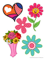 Stickers-Mother's Day-2