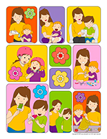 Stickers-Mother's Day 2020