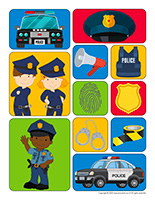 Stickers-Police
