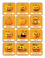 Stickers-Pumpkins