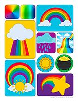 Stickers-Rainbows