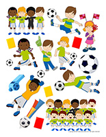 Stickers-Soccer