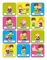 Stickers-Social skills