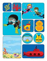 Stickers-Submarines