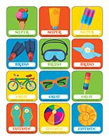 Stickers-Summer