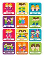 Stickers-Twins