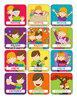 Stickers-Universal Children's Day