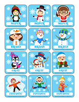 Stickers-Winter