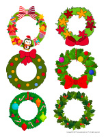 Stickers-Wreaths