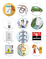 Story and memory game-Electricity