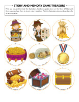 Story and memory game-Treasure