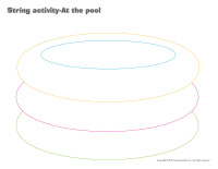 String activities-At the pool
