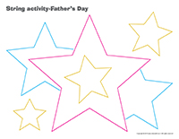 String activities-Father's Day