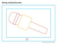 String activities-Karaoke