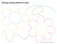String activities-Mother's Day