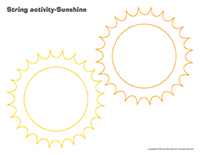 String activities-Sunshine