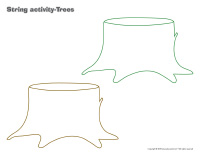 String activities-Trees