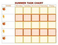Task chart-Autumn