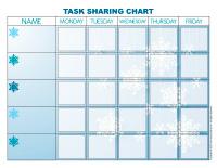 Task chart-Snowflakes-1
