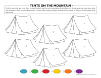 Tents on the mountain-1