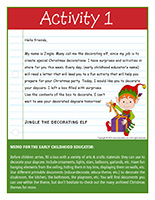Thematic letter-Christmas-Decorations Activity-1