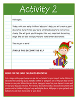 Thematic letter-Christmas-Decorations Activity-2