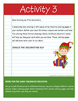 Thematic letter-Christmas-Decorations Activity-3
