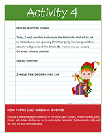 Thematic letter-Christmas-Decorations Activity-4
