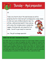 Thematic letter-Christmas-Gift exchange-4