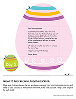 Thematic letter-Easter Surprises-Day-5