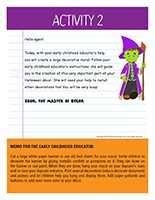 Thematic letter-Halloween-Decorations Activity-2
