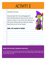 Thematic letter-Halloween-Decorations Activity-3
