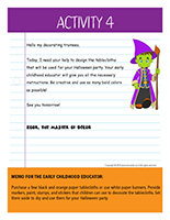 Thematic letter-Halloween-Decorations Activity-4
