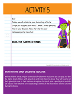 Thematic letter-Halloween-Decorations Activity-5