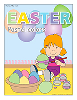 Easter-Pastel colors