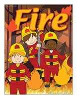 Thematic poster-Fire