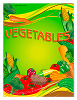 Thematic poster-Vegetables