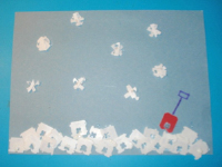 Three-dimensional snowflakes-1