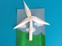 Three dimensional wind turbine-1