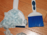 Tiny brooms and dustpans for toddlers-2