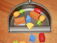 Tiny brooms and dustpans for toddlers-3