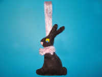Tiny chocolate bunny-1
