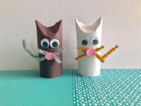 Toilet paper roll kittens-5