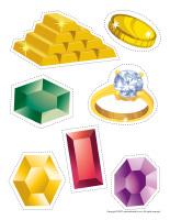 Treasure hunt items-1