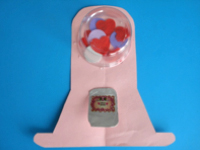 Valentines Day Gumball Machine-1