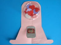 Valentines Day Gumball Machine-10
