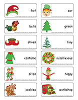 Word flashcards-Elves